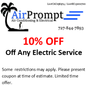 10% off any electric service